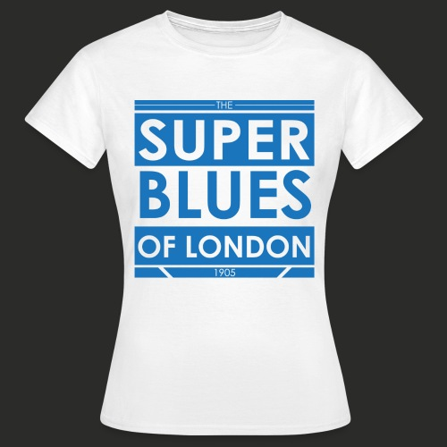 Super Blues of London Des - Women's T-Shirt