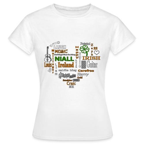 NiallWordcloudFinal png - Women's T-Shirt
