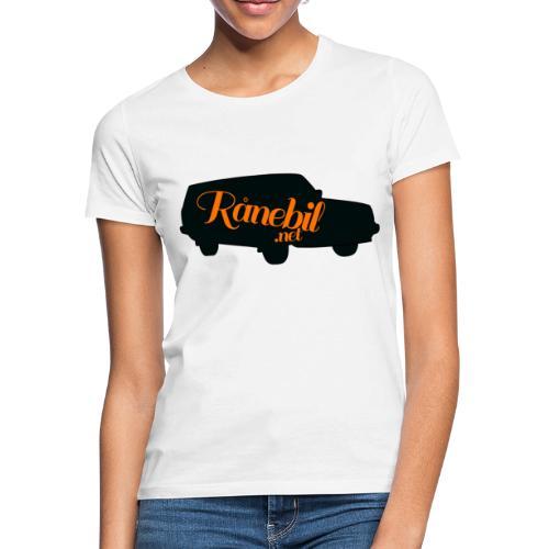 Ranebil-logo - T-skjorte for kvinner