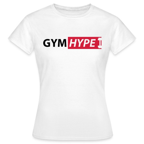 gym hype logo - Women's T-Shirt