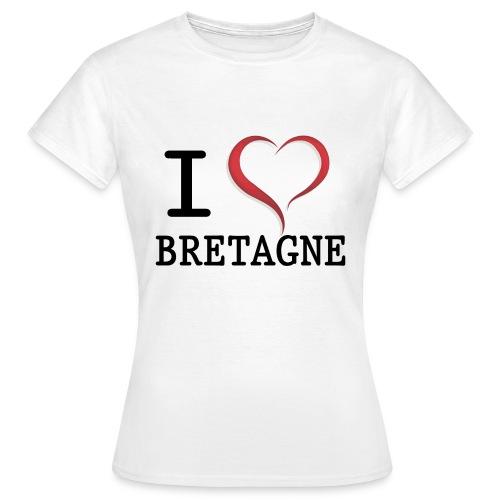i love bretagne design - T-shirt Femme