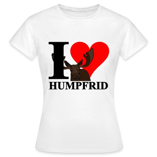 i love humpfrid 3 png - T-shirt dam