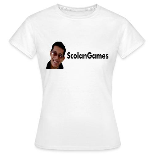 ScolanGames Logo - Vrouwen T-shirt