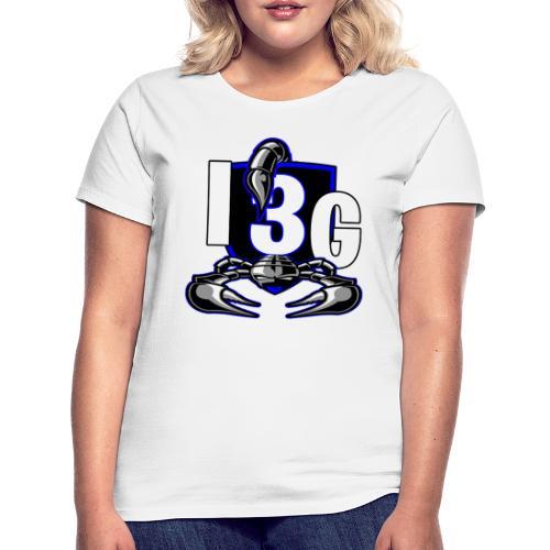 LOGO BLEU I3G - T-shirt Femme