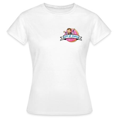 Sett på smaken - T-skjorte for kvinner