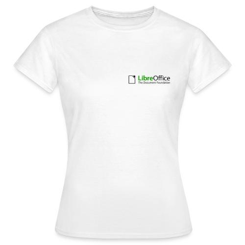libreoffice initialartworklogo colorlogo - Dame-T-shirt