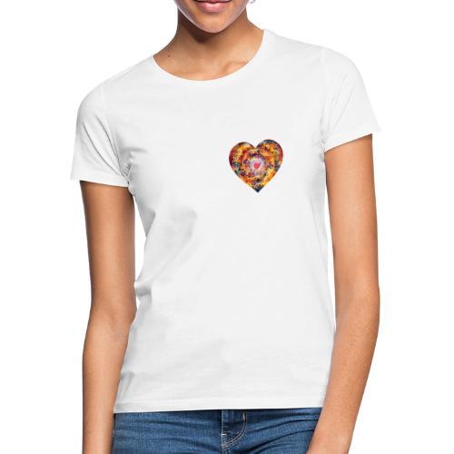A small big heart of love - Women's T-Shirt
