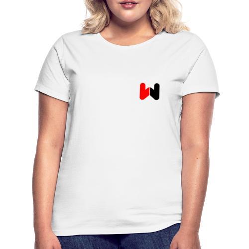 W (Black / Red Logo) - Women's T-Shirt