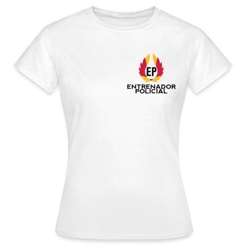 EntrenadorPolicial - Camiseta mujer