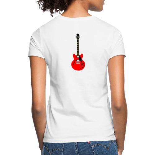 Guitare dos / Vully Blues classique poitrine - Frauen T-Shirt