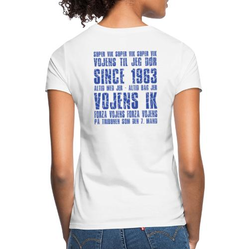 Forza Vojens + VIK - Dame-T-shirt