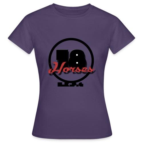 18 Horses - NKPG (Black) - T-shirt dam