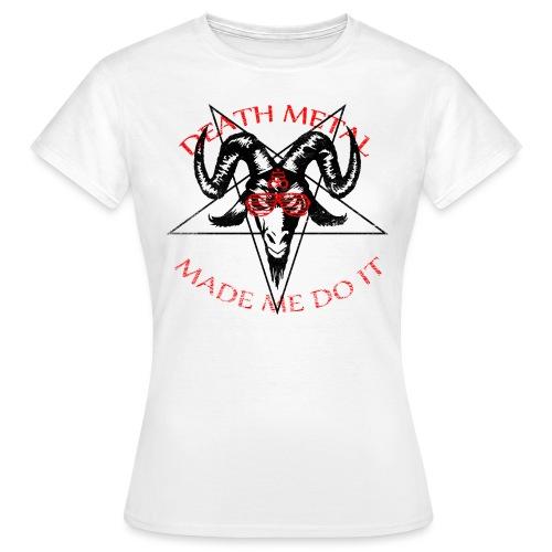 skullsolbriller3 - Dame-T-shirt