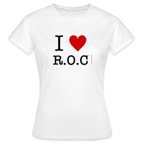 i lov roc tshirt png - Women's T-Shirt