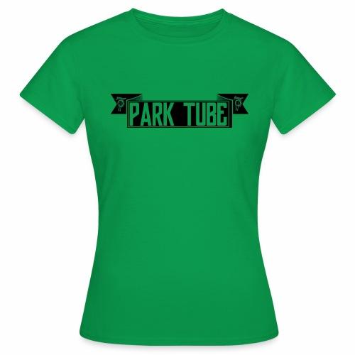 ParkTube Banner schwarz - Frauen T-Shirt