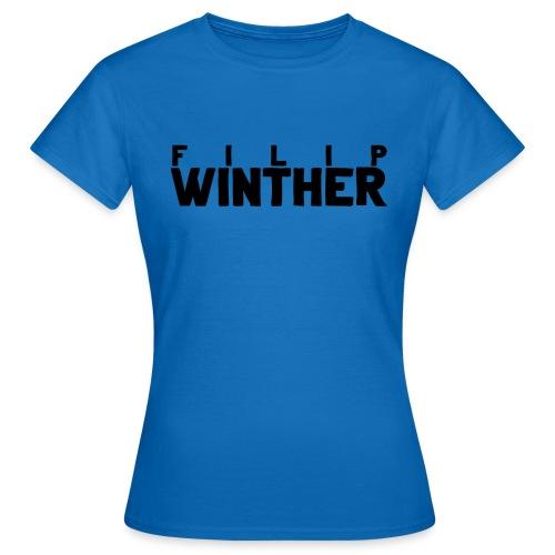 filip winther logga 2019 - T-shirt dam