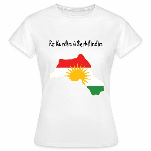 Ez kurdim u serbilindim - T-shirt dam
