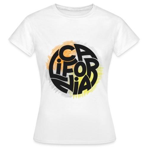 California - T-shirt Femme
