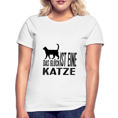 Katze Katzenliebe Cat Katzenglück Geschenkidee - Frauen T-Shirt
