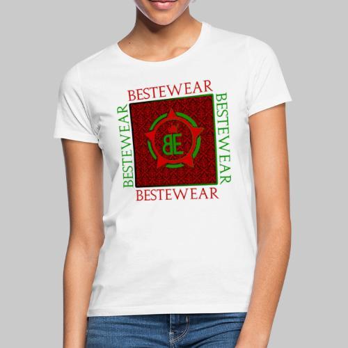 #Bestewear - Royal Line (Green/Red) - Frauen T-Shirt