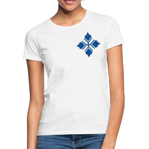 Konty logo sininen - Naisten t-paita