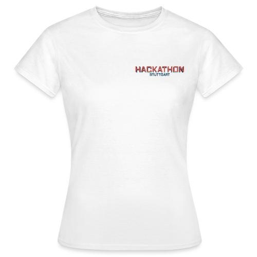 Hackathon Stuttgart 01 png - Frauen T-Shirt