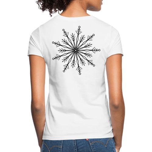 winterkind the mastermind snowflake - Frauen T-Shirt