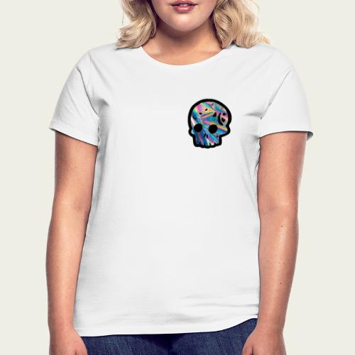 Skull craneo reflejante - Camiseta mujer