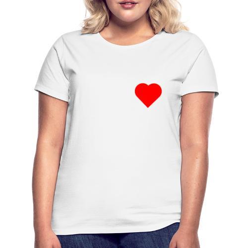 Heart - T-shirt Femme