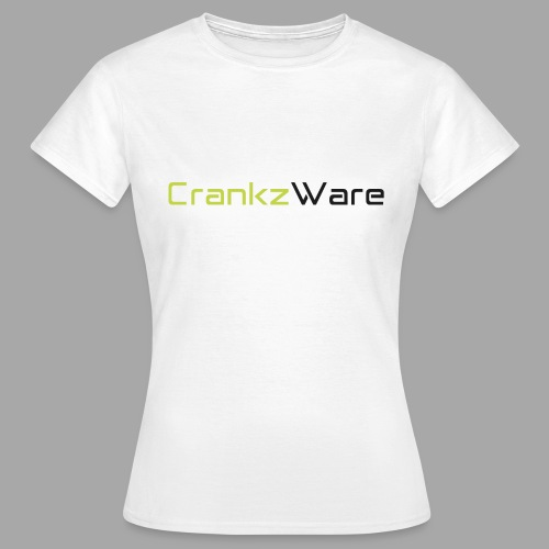 CrankzWare Tech-Font Only 4 Grills - Frauen T-Shirt