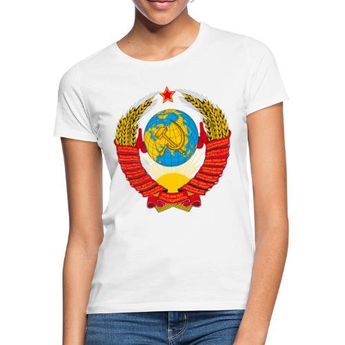 UdSSR Wappen / Герб СССР - Frauen T-Shirt