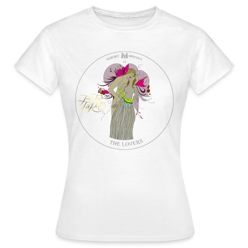 The Lovers | Die Liebenden Tarot Karte | Zwillinge - Frauen T-Shirt