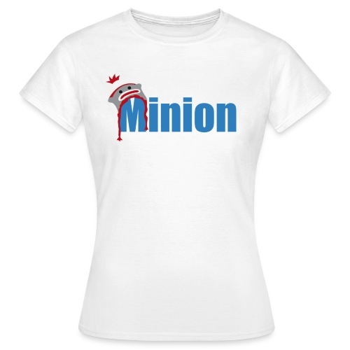Minion (dark blue) - Women's T-Shirt