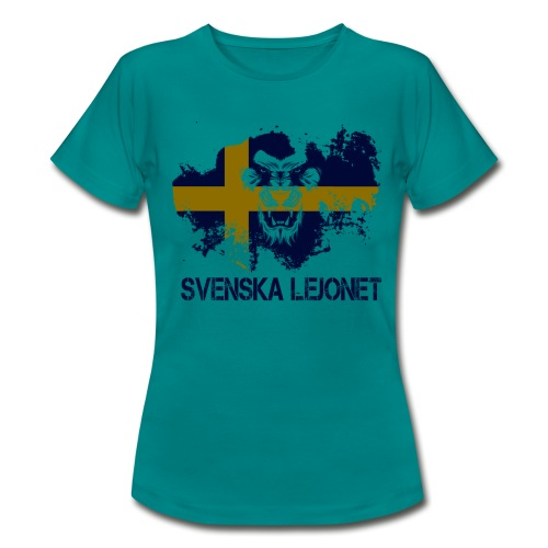 Svenska Lejonet Official Chest Logo - T-shirt dam