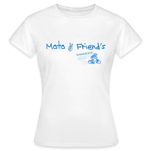 MotoSolexBleu - T-shirt Femme