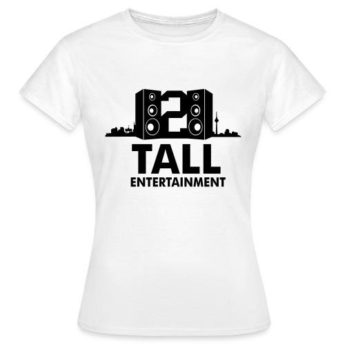 2 TALL LOGO - Frauen T-Shirt