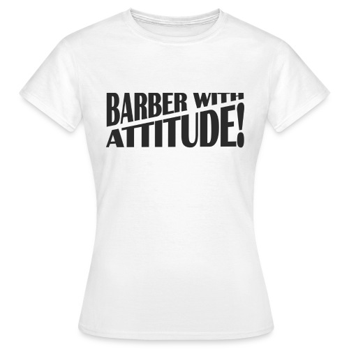 Barber T-Shirt logo 6 - Women's T-Shirt
