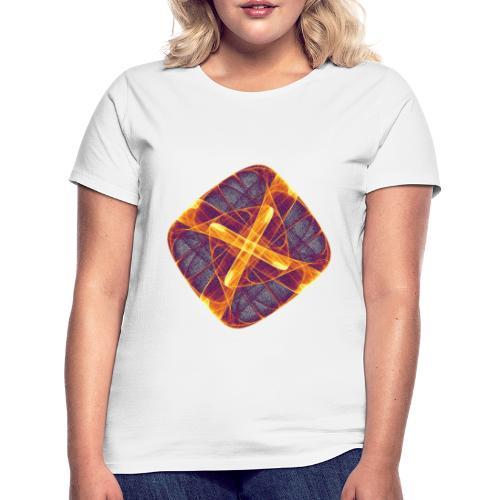 Chakra Mandala Mantra OM Chaos Stern Kreis 12255i - Frauen T-Shirt