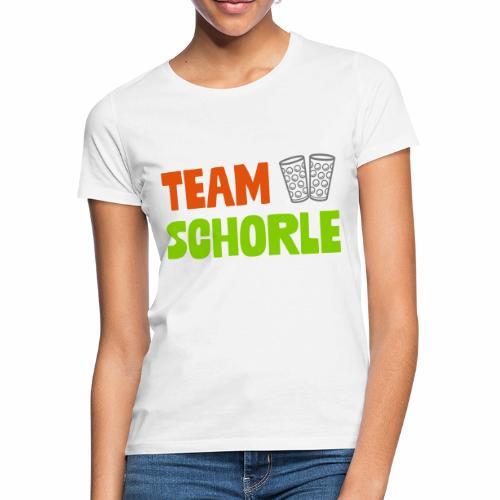 Team Schorle und Dubbegläser - Frauen T-Shirt