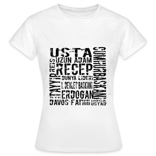 rtelakap_beyaz - Frauen T-Shirt