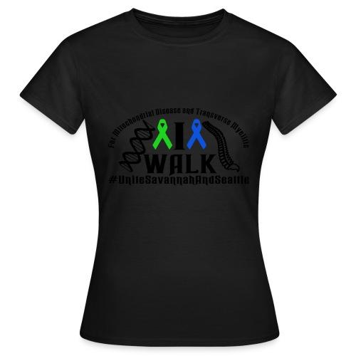 walk ribbons - Women's T-Shirt