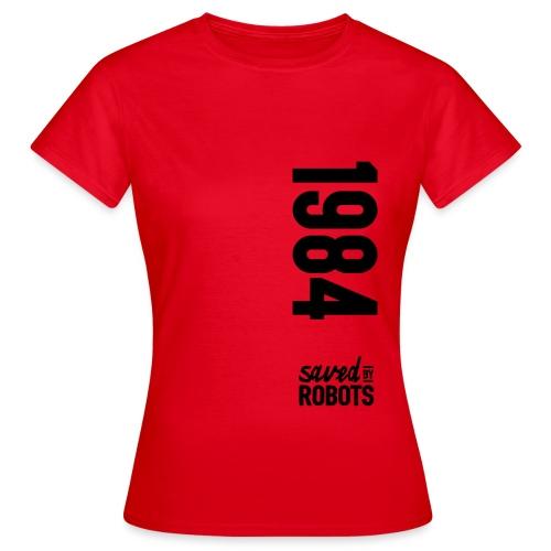 1984 / Saved By Robots Premium Tote Bag - Women's T-Shirt