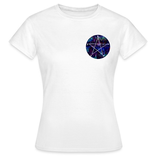Cool pantagram - Women's T-Shirt