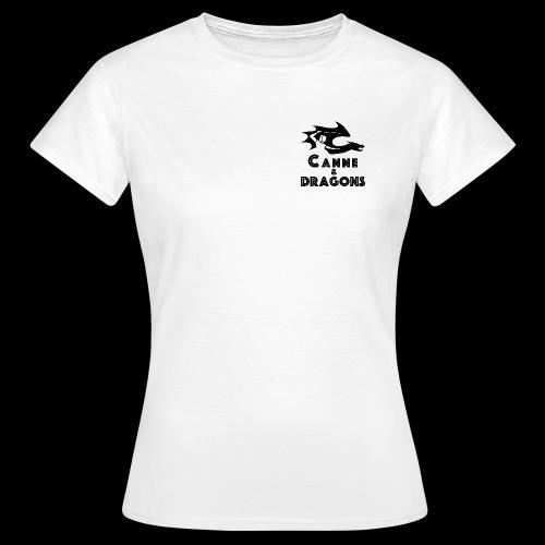 logoC D N B2 - T-shirt Femme