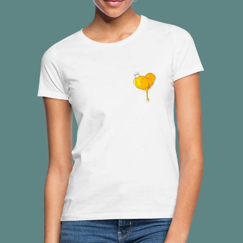 Heart Bee LOVE - T-shirt Femme