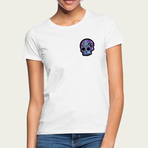 Skull craneo metalico - Camiseta mujer