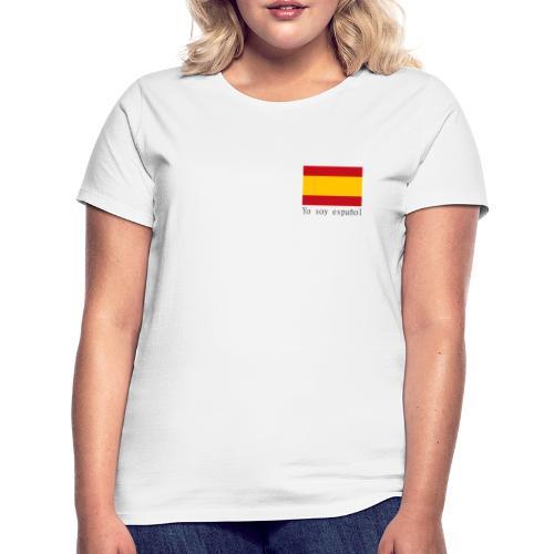 yo soy español - Camiseta mujer