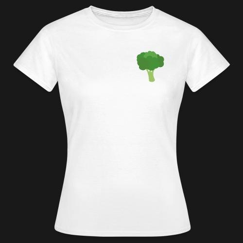 Brokkoli - T-skjorte for kvinner