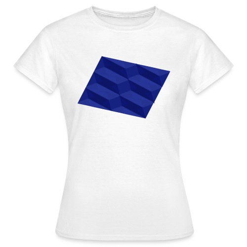 Blue Pattern | SixtyEight - Frauen T-Shirt