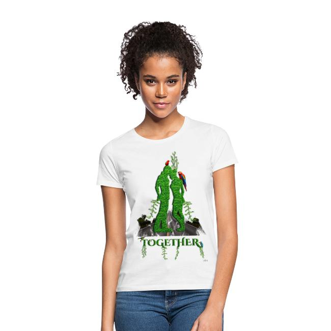 Together love nature by T-shirt chic et choc